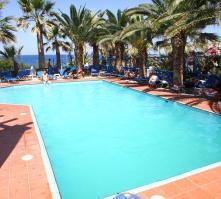 Palm Bay in Sissi, Crete, Greek Islands