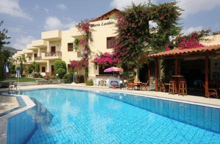 Maria Lambis Apartments in Stalis, Crete, Greek Islands