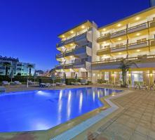Trianta Hotel in Ialyssos, Rhodes, Greek Islands