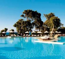 Amathus Beach Hotel in Ixia, Rhodes, Greek Islands