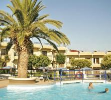 Virginia Hotel in Kalithea, Rhodes, Greek Islands