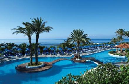 Rodos Princess Beach Hotel in Kiotari, Rhodes, Greek Islands