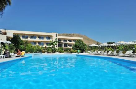 Olive Garden in Lardos, Rhodes, Greek Islands
