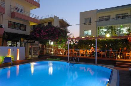Agla in Rhodes Town, Rhodes, Greek Islands