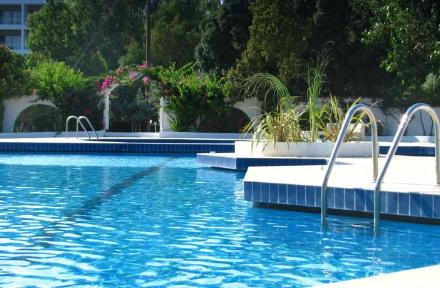Happy Days Hotel Tholos in Theologos, Rhodes, Greek Islands