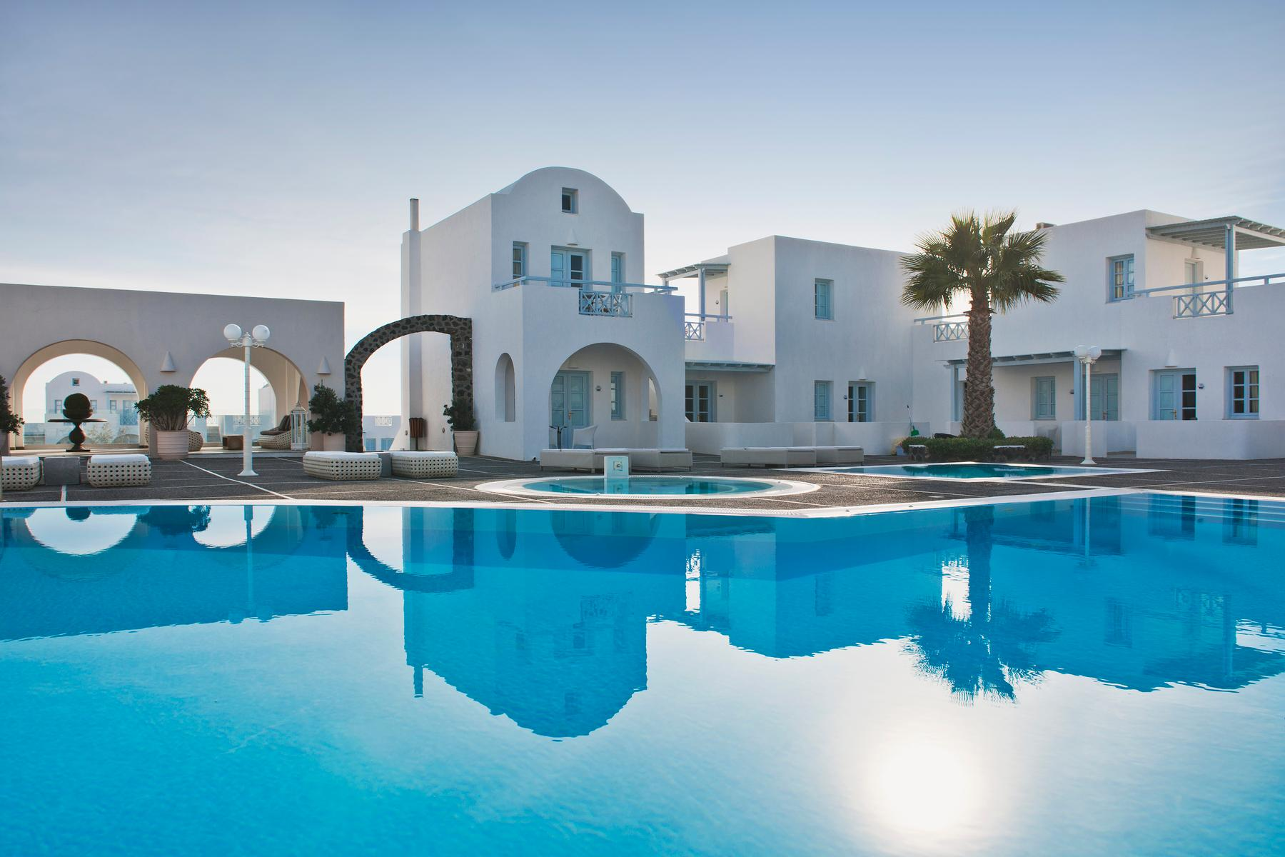 El Greco Resort in Fira, Santorini, Greek Islands