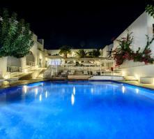 RK Beach Hotel in Kamari, Santorini, Greek Islands