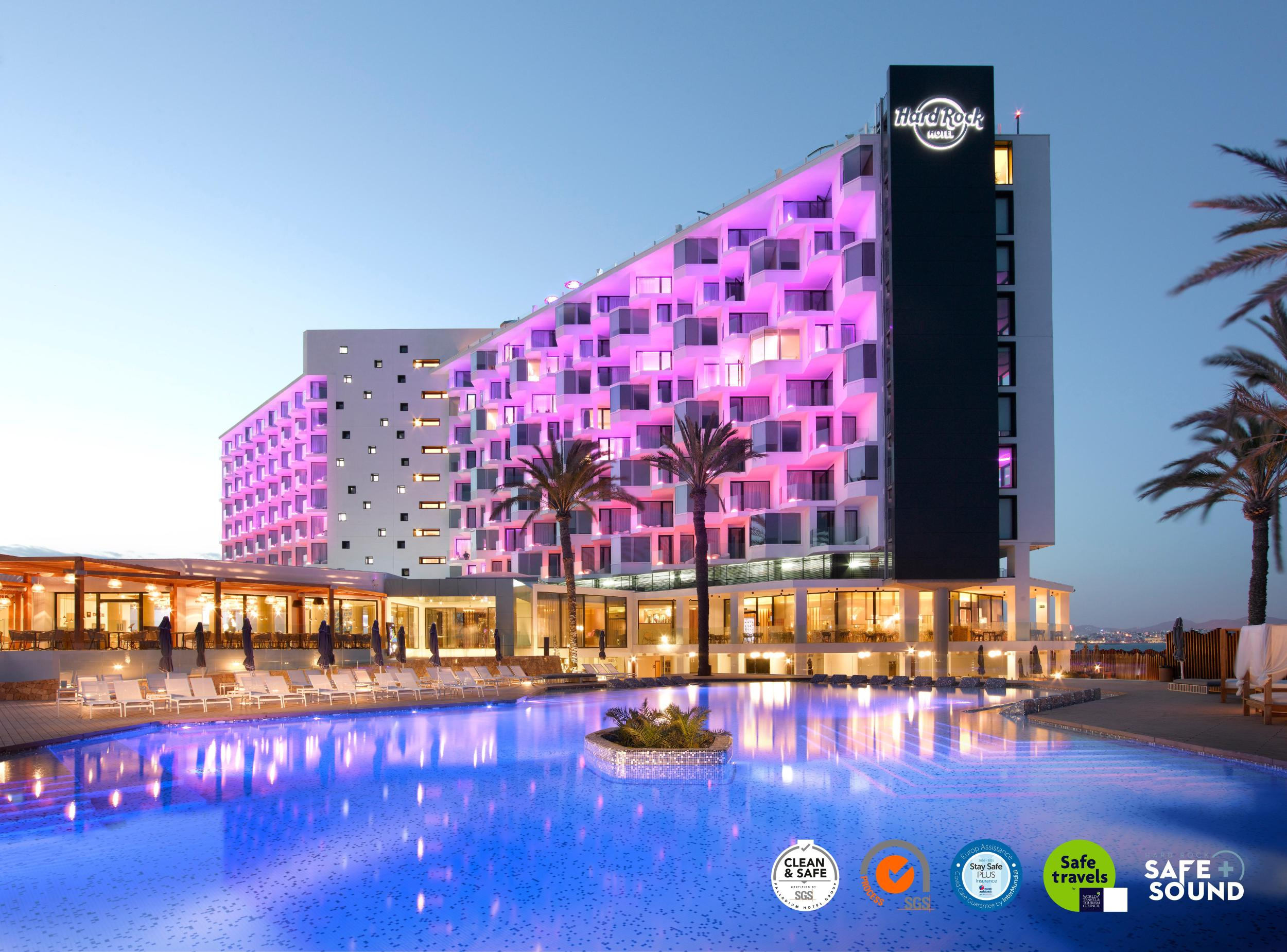 Hard Rock Hotel Ibiza in Playa d'en Bossa, Ibiza, Balearic Islands