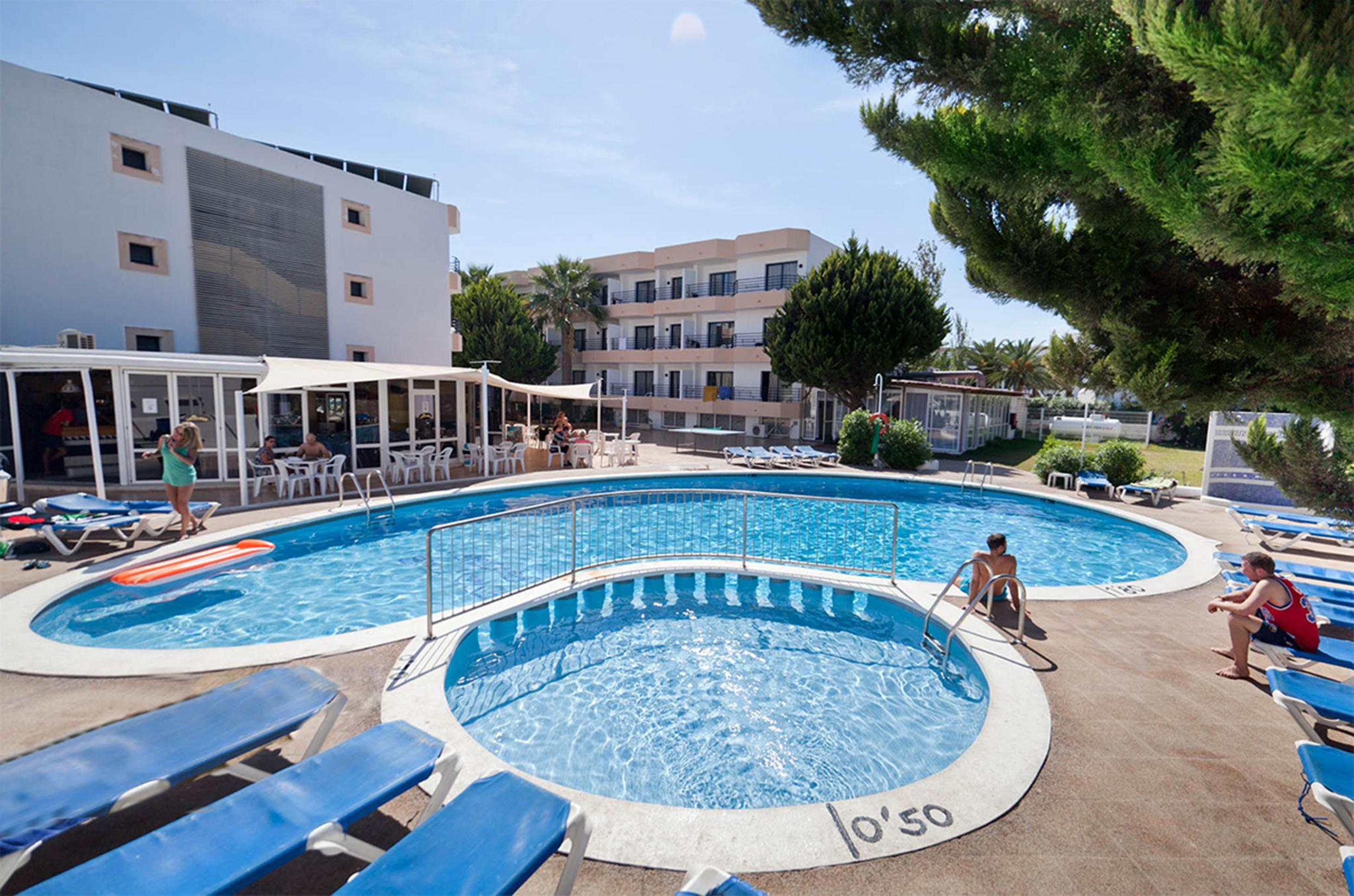 Hotel Club la Noria in Playa d'en Bossa, Ibiza, Balearic Islands