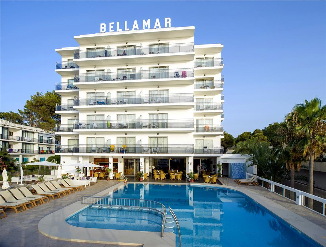 Bellamar Hotel in San Antonio, Ibiza, Balearic Islands
