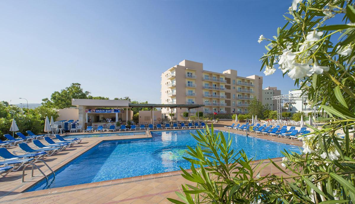 Invisa Es Pla Hotel in San Antonio, Ibiza, Balearic Islands