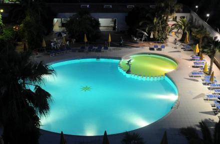 Hotel Marina Club in Baia Domizia, Neapolitan Riviera, Italy