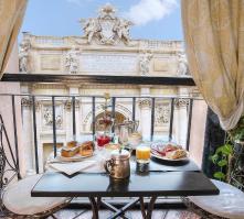 Hotel Fontana in Rome, Italy