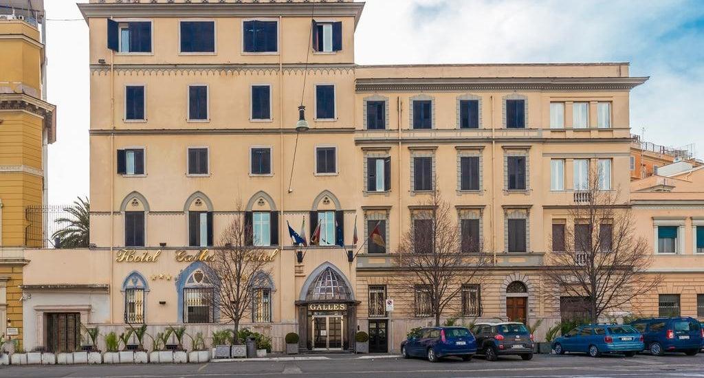 Hotel Galles Roma Via Castro Pretorio