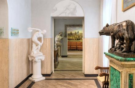 Hotel Museum in Rome, Italy
