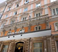 San Remo Hotel in Rome, Italy