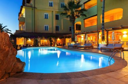 Villa Margherita Hotel in Golfo Aranci, Sardinia, Italy
