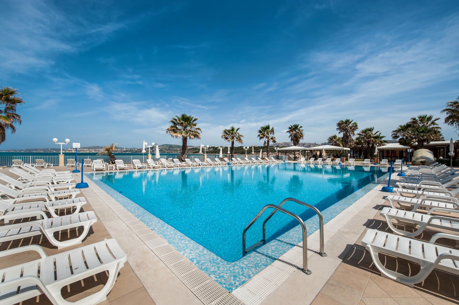 Dioscuri Bay Palace Hotel Agrigento Sicily
