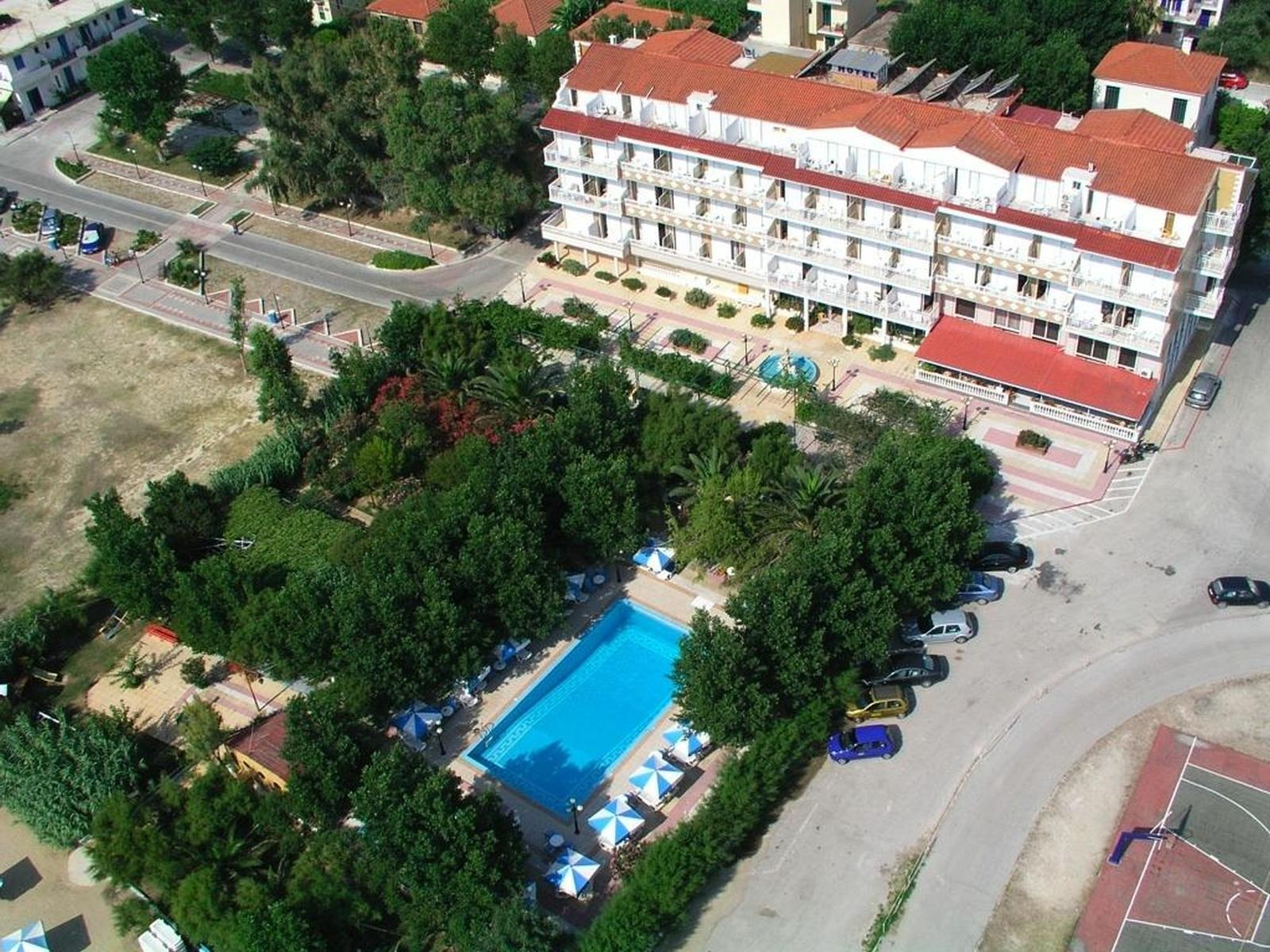 Summery Hotel in Lixouri, Kefalonia, Greek Islands