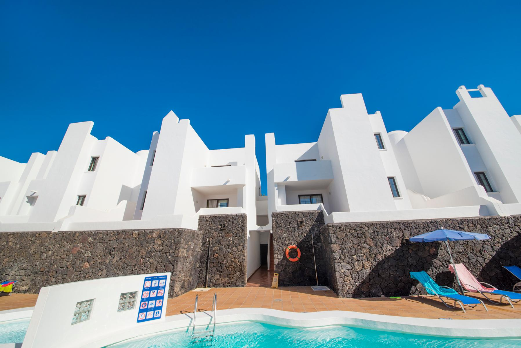 Tabaiba in Costa Teguise, Lanzarote, Canary Islands