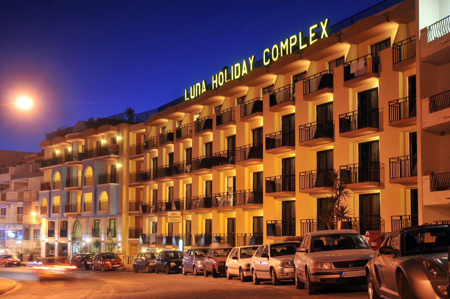 Luna Holiday Complex in Mellieha, Malta