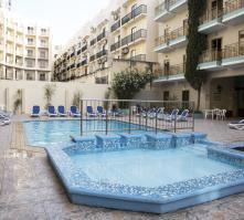 The Bugibba Hotel in St Paul's Bay, Malta