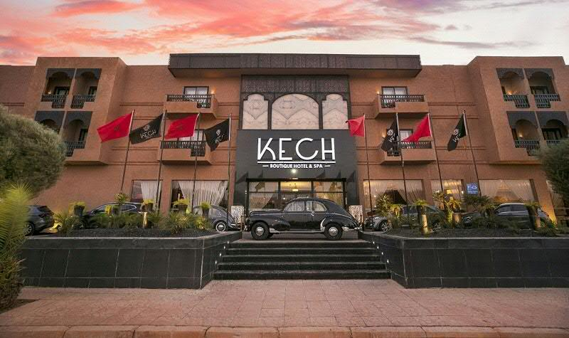 Kech Boutique Hotel & Spa in Marrakech, Morocco