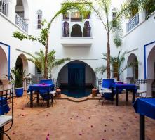 Riad el Kenz in Marrakech, Morocco