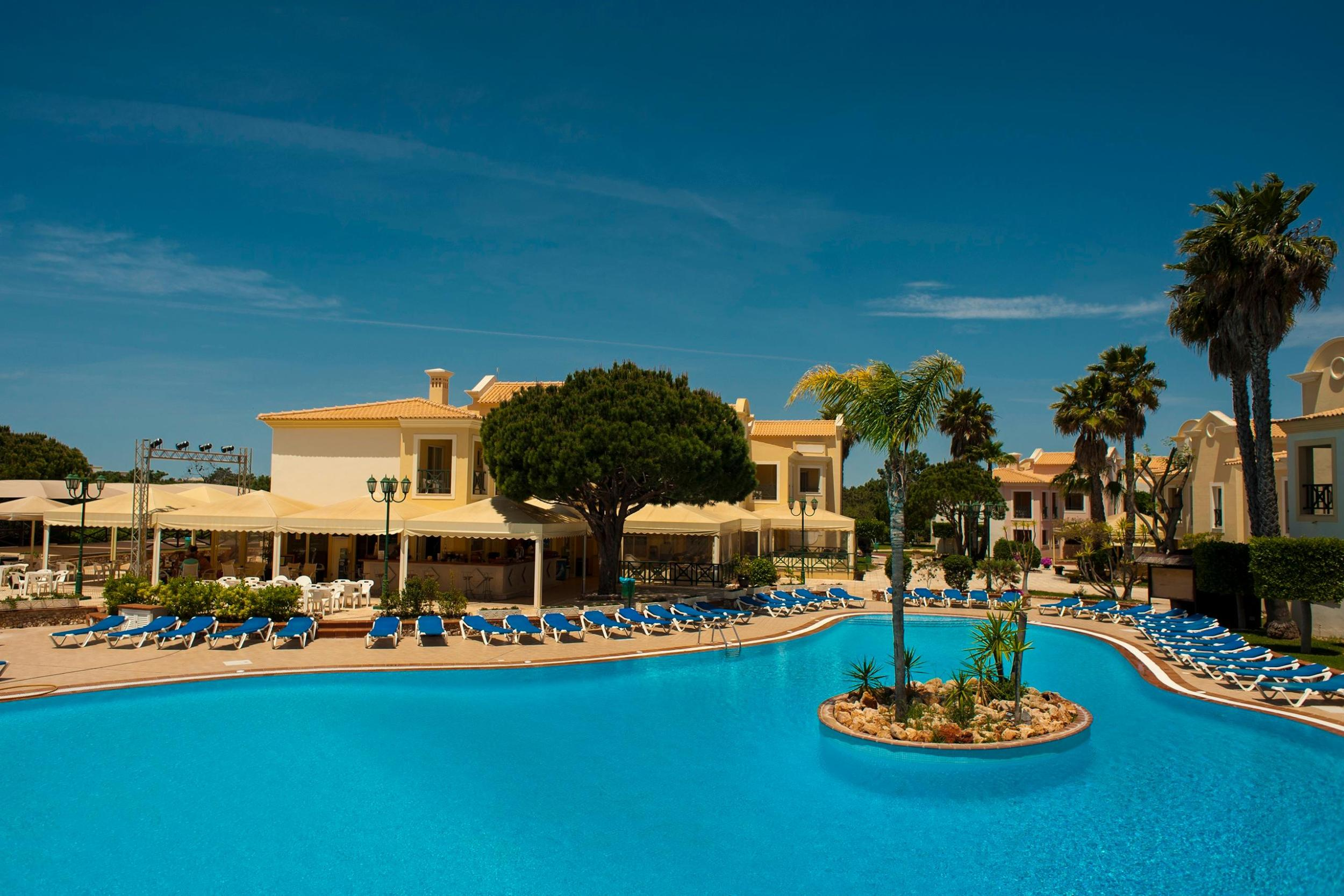 Adriana Beach Club Hotel Resort in Albufeira, Algarve, Portugal