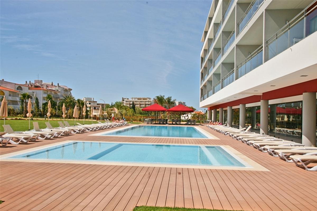 Areias Village Hotel Apartments in Albufeira, Algarve, Portugal