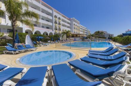 Paladim and Alagoamar Hotels in Albufeira, Algarve, Portugal