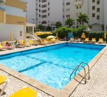 Atismar Hotel in Quarteira, Algarve, Portugal