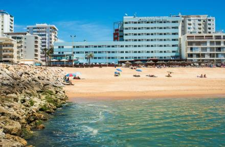 Dom Jose Beach Hotel in Quarteira, Algarve, Portugal