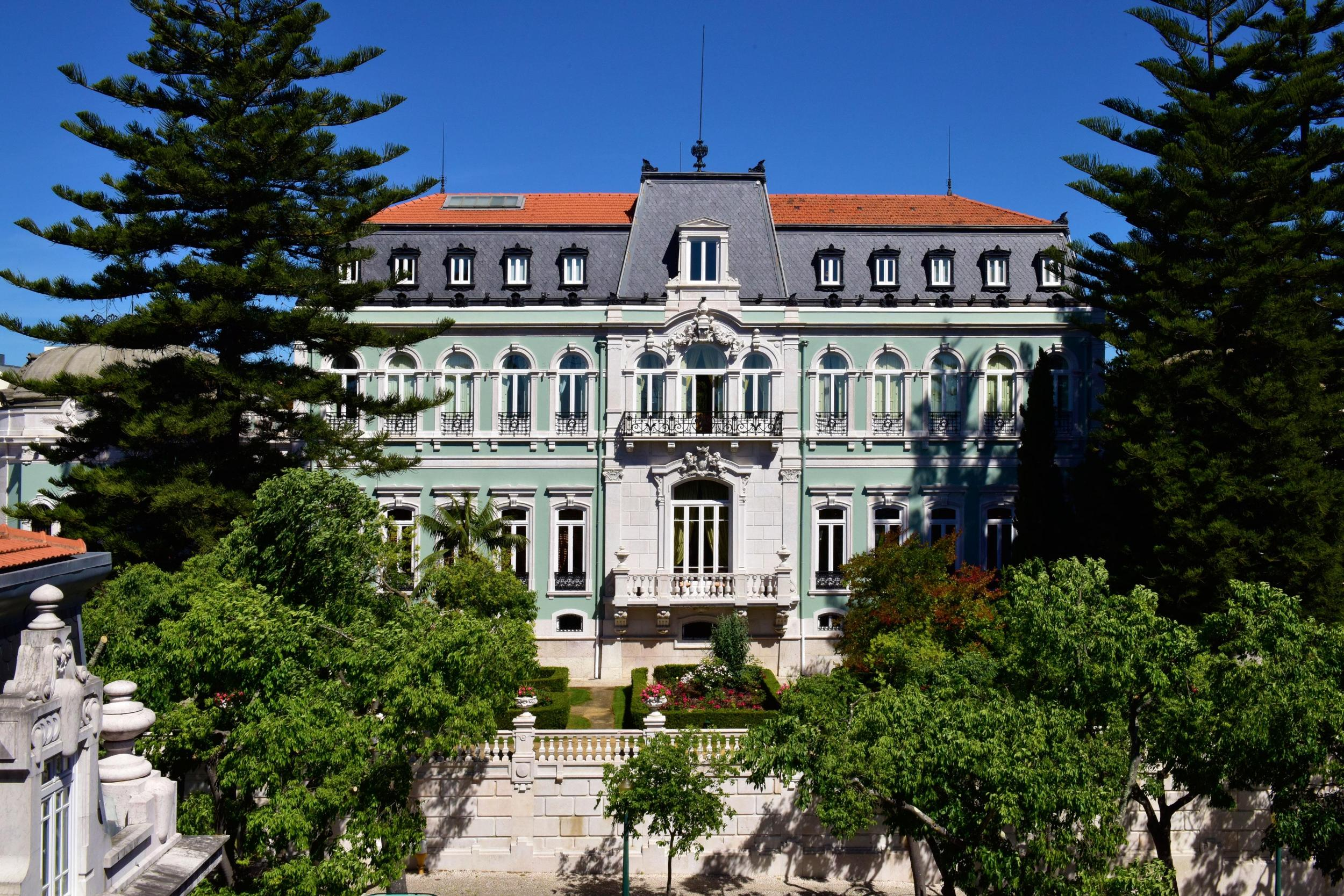 Pestana Palace Hotel and National Monument in Lisbon, Portugal