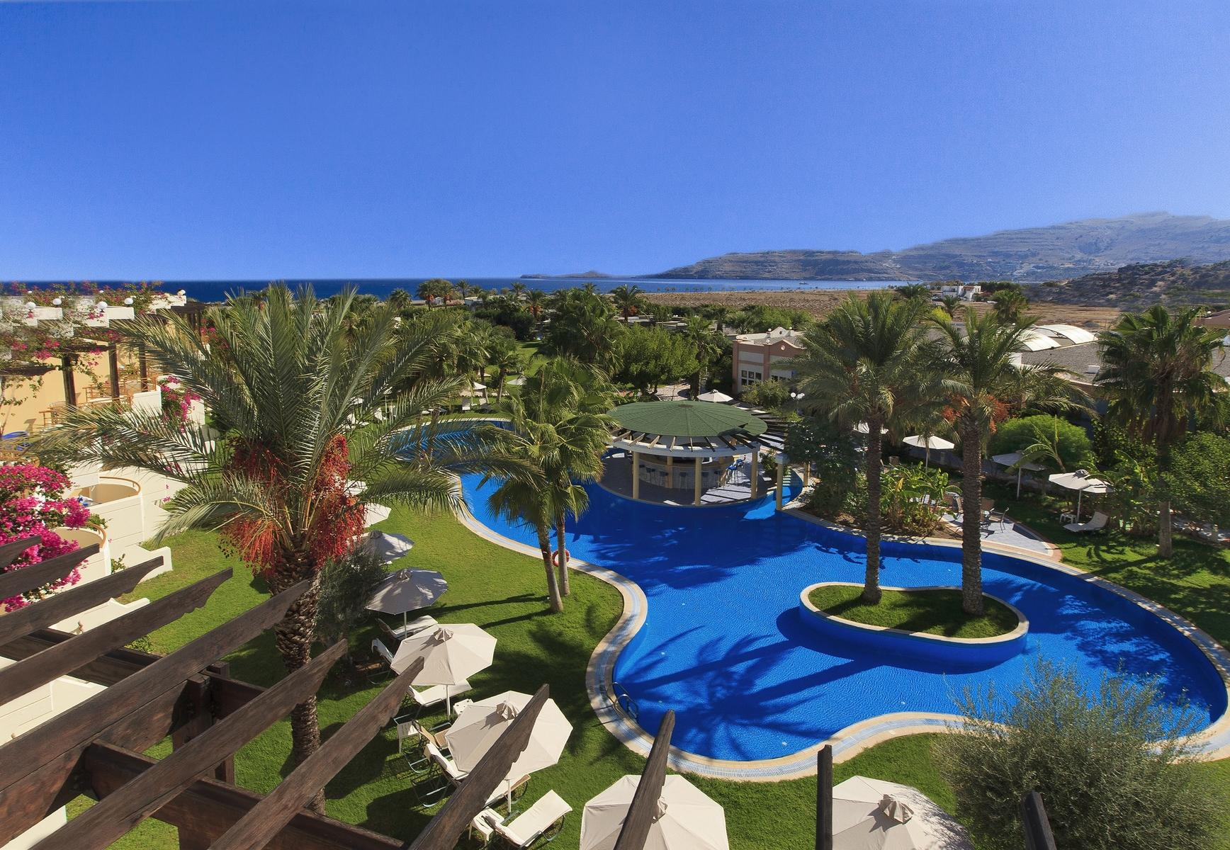 Atrium Palace Thalasso Spa Resort & Villas in Kalathos, Rhodes, Greek Islands