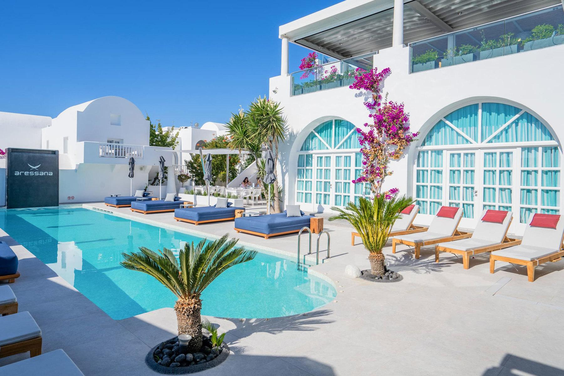 Aressana Spa Hotel and Suites in Fira, Santorini, Greek Islands