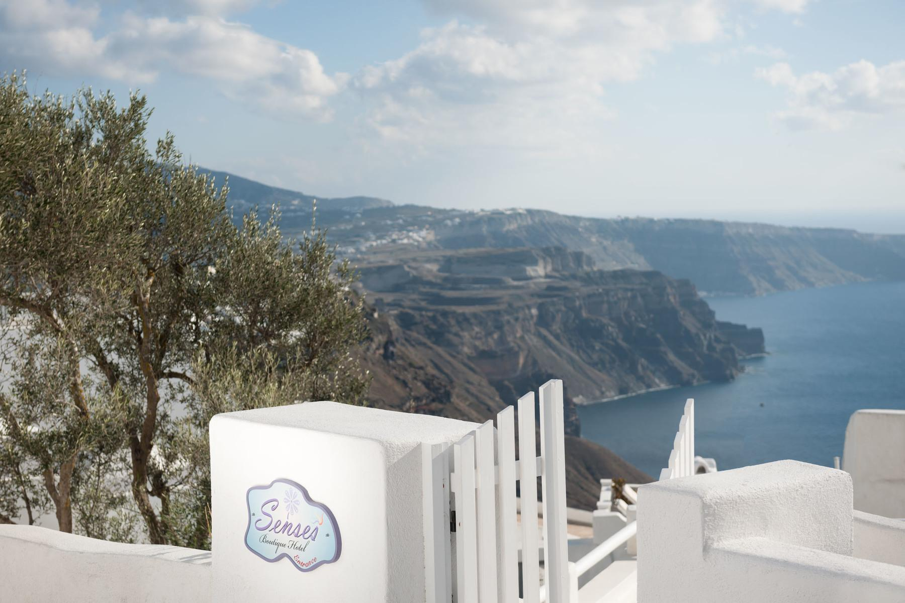 Senses Boutique Hotel In Imerovigli Santorini Holidays