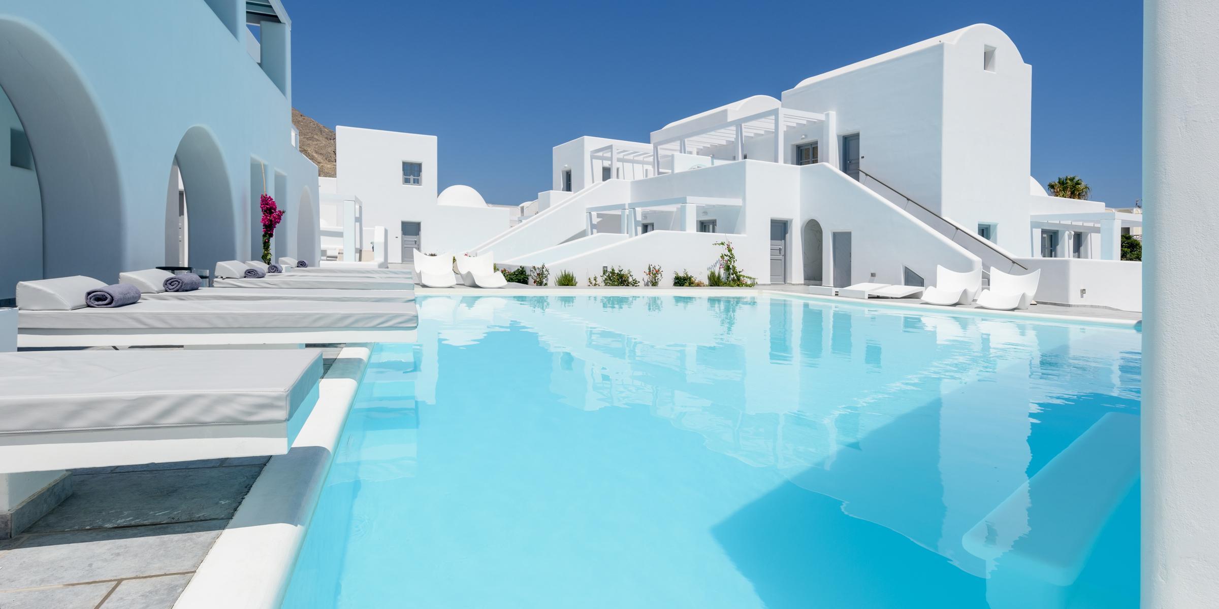 Antoperla Luxury Hotel Spa In Perissa Santorini Holidays From
