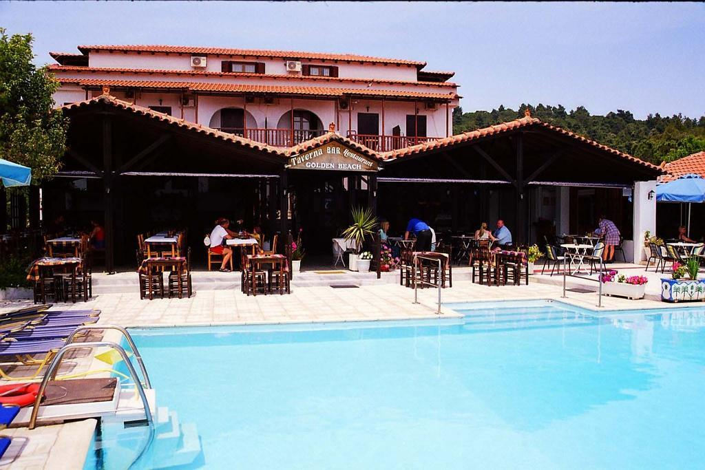 Golden Beach Hotel in Koukounaries, Skiathos, Greek Islands