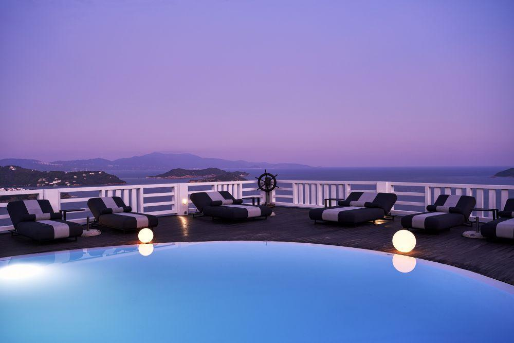 Kivo Art & Gourmet Hotel in Vasilias, Skiathos, Greek Islands