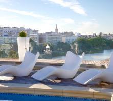 Hotel Ribera de Triana in Seville, Andalucia, Spain