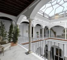 Palacio Pinello Hotel in Seville, Andalucia, Spain