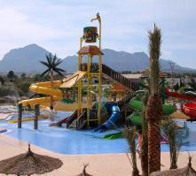 Albir Garden Aqua Park in Albir, Costa Blanca, Spain