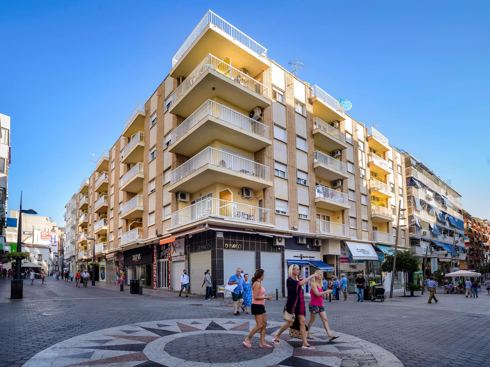 Avenida Apartments in Benidorm, Costa Blanca, Spain