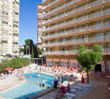 Gala Placidia Hotel in Benidorm, Costa Blanca, Spain
