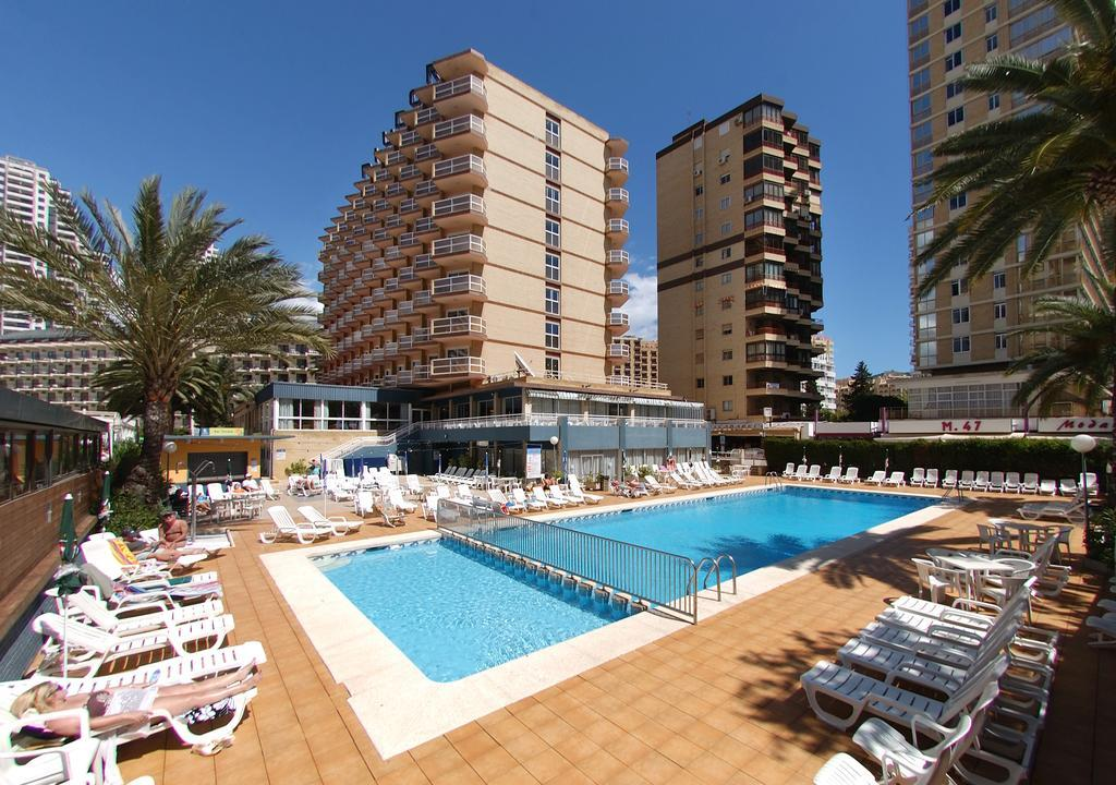 Hotel Riudor in Benidorm, Costa Blanca, Spain
