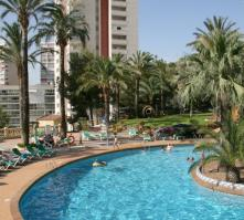 Palm Beach Hotel in Benidorm, Costa Blanca, Spain
