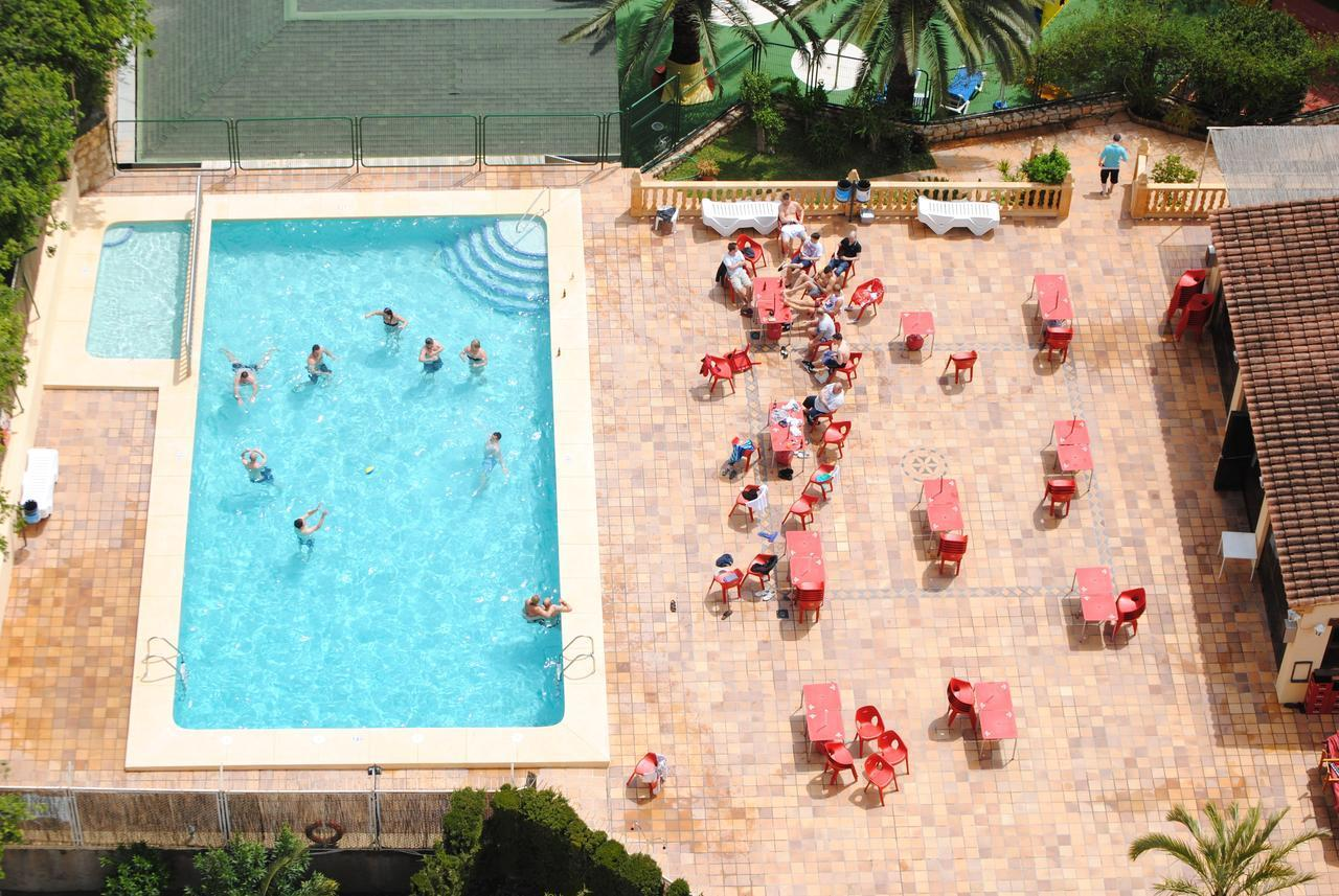 Palm Court Apartments in Benidorm, Costa Blanca, Spain