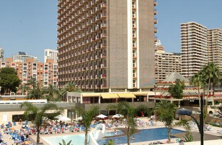 Rosamar Hotel in Benidorm, Costa Blanca, Spain