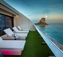 Suitopia Sol y Mar Suites Hotel in Calpe, Costa Blanca, Spain
